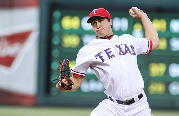 The return of Derek Holland is one of the many reasons the Texas Rangers can with the AL West. Photo Courtesy: Darryl Briggs
