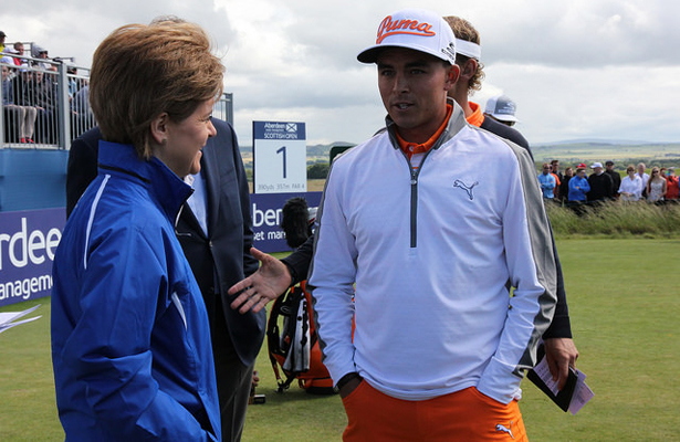 Rickie Fowler notches another victory at the Deutsche Bank Championship this past Monday. Photo Courtesy: First Minister of Scotland