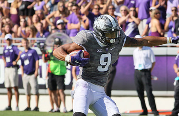 """The Horned Frogs and WR Josh Doctson expect to take home the win in this year's """"Iron Skillet"""" game. Photo Courtesy: Dominic Ceraldi"""