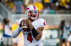 The SMU Mustangs hope that Matt Davis can be a difference maker against the Horned Frogs. Photo Courtesy: Matthew Lynch