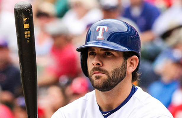 Mitch Moreland's bat was one of the few bright spots in the series against the Mariners. Photo Courtesy: Darryl Briggs