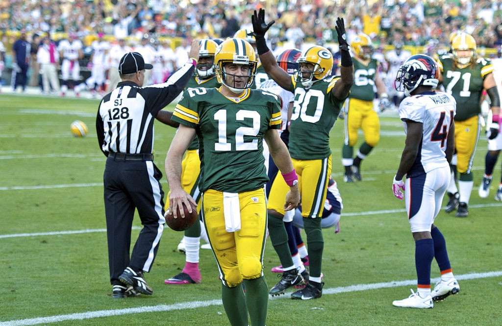 Can Aaron Rodgers lead the Packers to another division title? Photo Courtesy: Elvis Kennedy