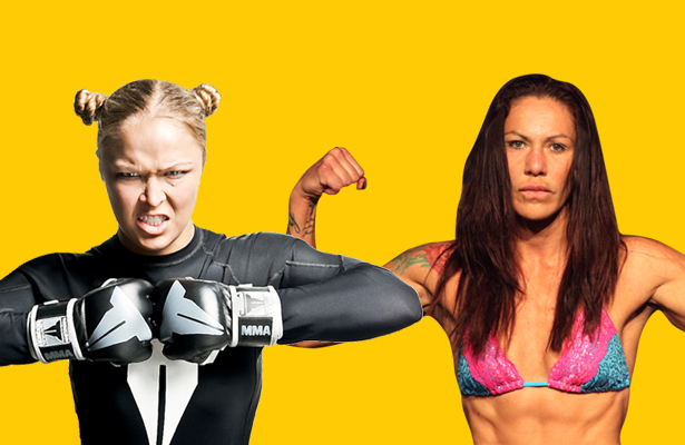 Could Cyborg be in Ronda Rousey's near future?