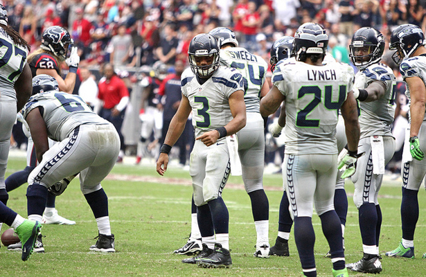 Can Russell Wilson and the Seattle Seahawks return to a third straight Super Bowl? Photo Courtesy: Rick Leal