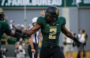 Shawn Oakman and the Baylor Bears look to destroy the Lamar Cardinals on Saturday. Photo Courtesy: Matthew Lynch