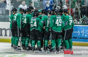 The Dallas Stars at training camp in the Cedar Park Center. Photo Courtesy: Jeff Cantrell