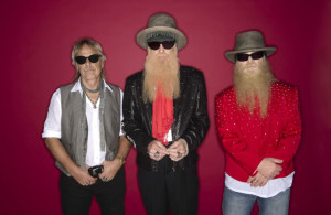 ZZ Top, from left, Frank Beard, Billy Gibbons, and Dusty Hill. Photo Courtesy: Ross Halfin