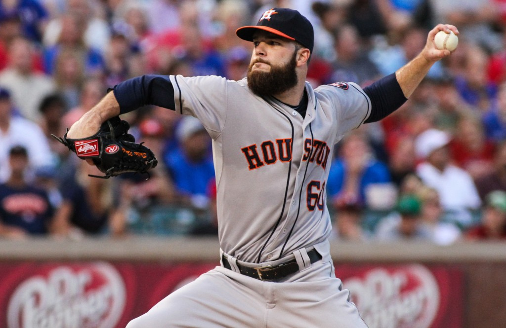 Dallas Keuchel and the Houston Astros face the Kansas City Royals, Thursday, Oct. 8 in the ALDS. Darryl Briggs