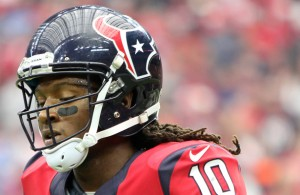 If Texans WR DeAndre Hopkins can get loose in the secondary against the Dolphins he'll have another huge day. Photo Courtesy: Rick Leal