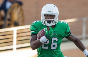 Perhaps the Mean Green have found their running in Jeffrey Wilson. Photo Courtesy: Sandy McAnally