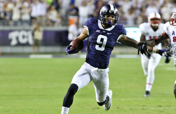 Expect a big game from Frogs WR Josh Doctson against the Wildcats. Photo Courtesy: Dominic Ceraldi