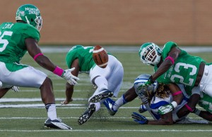It's going to be a really long season for fans of the North Texas Mean Green. Photo Courtesy: Sandy McAnally
