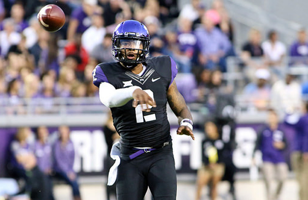 TCU Horned Frog quarterback Trevone Boykin had another great game on Thursday night. Photo Courtesy: Dominic Ceraldi