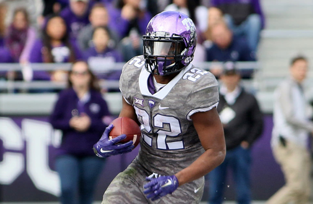 The TCU Horned Frogs are going to rely heavily on the services of RB Aaron Green to keep them in the game against the Sooners. Photo Courtesy: Dominic Ceraldi