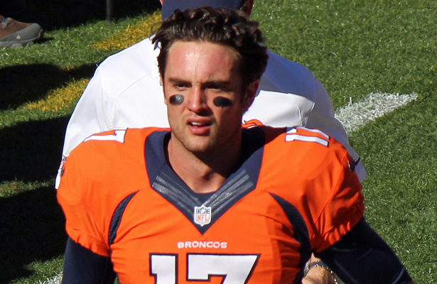 Back up Broncos QB Brock Osweiler came in for an ineffective Peyton Manning in the loss to the Chiefs. Photo Courtesy: Jeffrey Beall