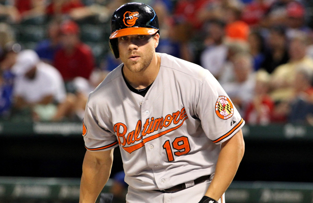 Chris Davis has led the majors in HR two of the three past seasons and will command a huge contract. Photo Courtesy: Dominic Ceraldi