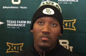 Baylor Bears 3rd string QB Chris Johnson has to make quality decisions in his first career start on Friday. Photo Courtesy: Matthew Lynch