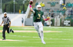 The Baylor Bears will rely on back up QB Jarrett Stidham to lead the team moving forward. Photo Courtesy: Matthew Lynch