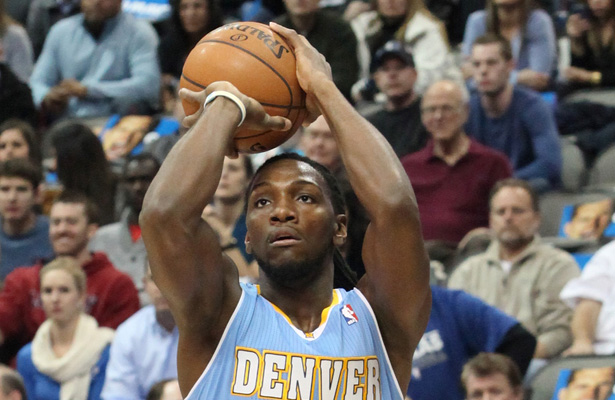 The Kenneth Faried and the Denver Nuggets try to stay afloat in the grueling Western Conference. Photo Courtesy: Dominic Ceraldi
