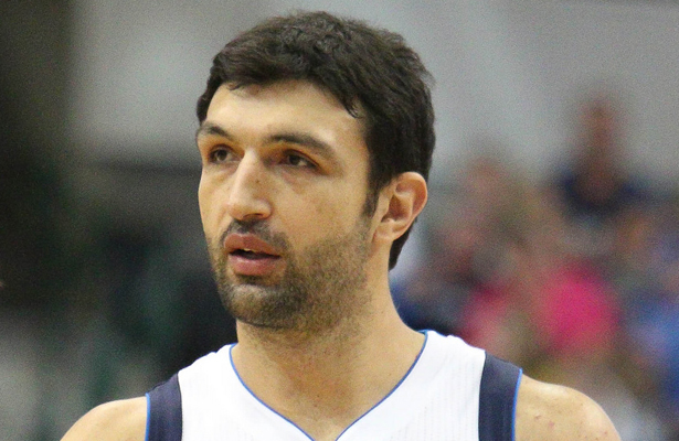 Dallas Mavericks big man Zaza Pachulia has performed much better than expected. Photo Courtesy: Michael Kolch
