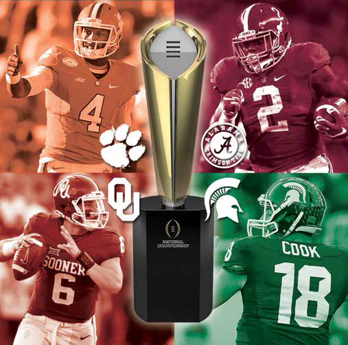 "This year's ""Final Four"" for the College Football Playoff was clear cut. Will it be next year?"