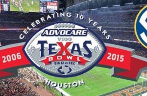 Expect lots of points to be put up at this year's AdvoCare V100 Texas Bowl by both teams. Photo Courtesy: AdvoCare V100 Texas Bowl Facebook Page