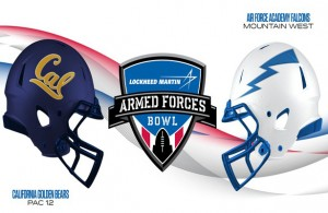 The Golden Bears will attack through the air and the Falcons with their ground game. Photo Courtesy: Lockheed Martin Armed Force Bowl Twitter Page