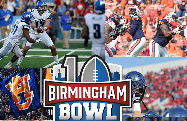 "Dubbed ""The Battle of the Tigers,"" this year's Birmingham Bowl should be a good one. Photo Courtesy: Birmingham Bowl Facebook Page"