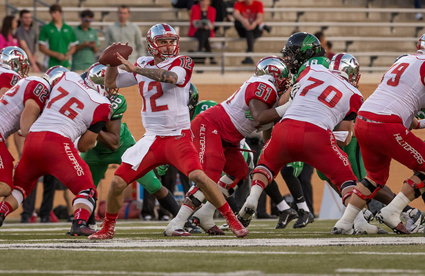 Hilltopper quarterback Brandon Doughty has put up some impressive numbers against C-USA teams. Photo Courtesy: Sandy McAnally