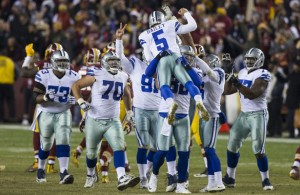 Dallas Cowboys K Dan Bailey has been magnificent this season. Photo Courtesy: Keith Allison