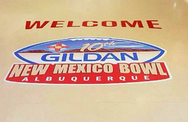 This year's Gildan New Mexico Bowl offers a contrast of offensive styles between New Mexico and Arizona. Photo Courtesy: Gildan New Mexico Bowl Facebook Page