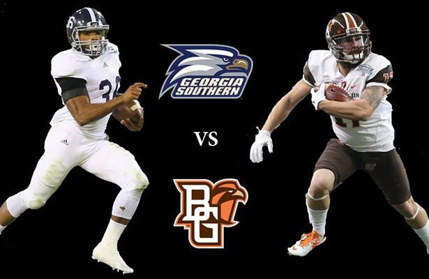 The Godaddy Bowl is for the birds this year... Eagles vs. Falcons. Photo Courtesy: Godaddy Bowl Facebook Page