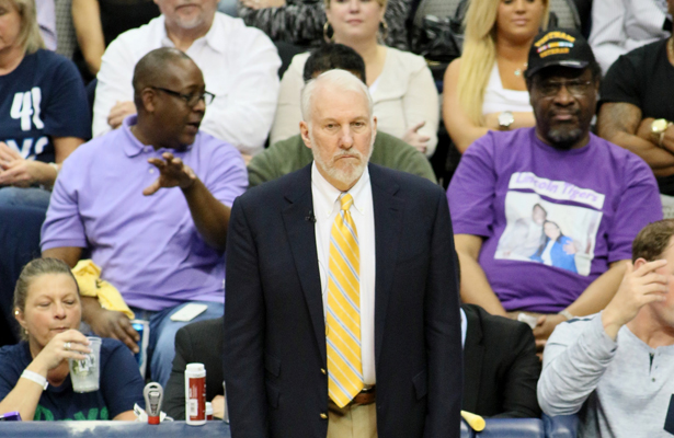 The mastermind behind the San Antonio Spurs dynasty. Photo Courtesy: Dominic Ceraldi