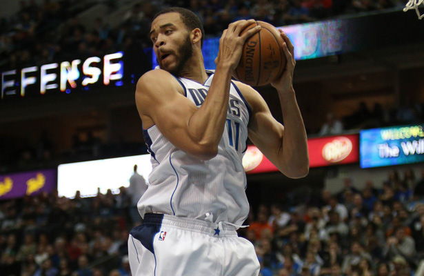 Mavericks Center JaVale McGee certainly likes the air up there. Photo Courtesy: Michael Kolch