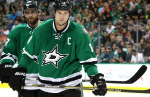 Dallas Stars' Captain Jamie Benn has scored in four of the last five games and has 41 on the season. Photo Courtesy: Dominic Ceraldi