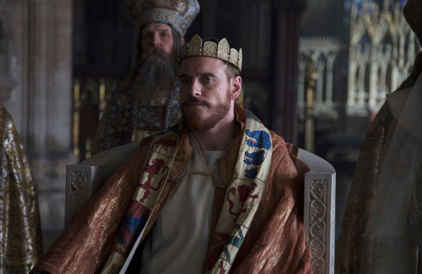 Michael Fassbender as Macbeth will certainly be nominated for several awards. Photo Courtesy: The Weinstein Company