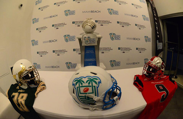 The Miami Beach Bowl is in its second year and once again features a pair of teams that can put up a lot of points. Photo Courtesy: Miami Beach Bowl Facebook Page