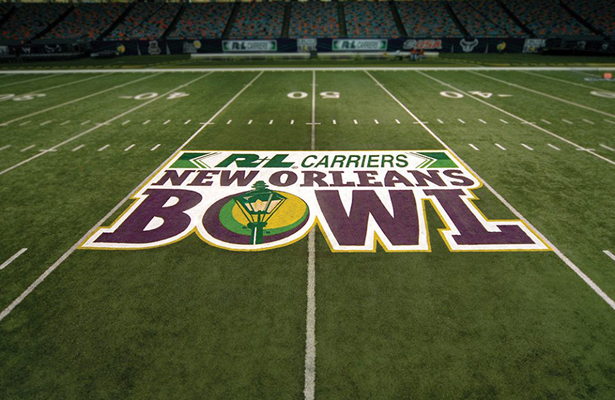 Time to get the bowl season started New Orleans style. Photo Courtesy: R+L Carriers New Orleans Bowl Facebook Page