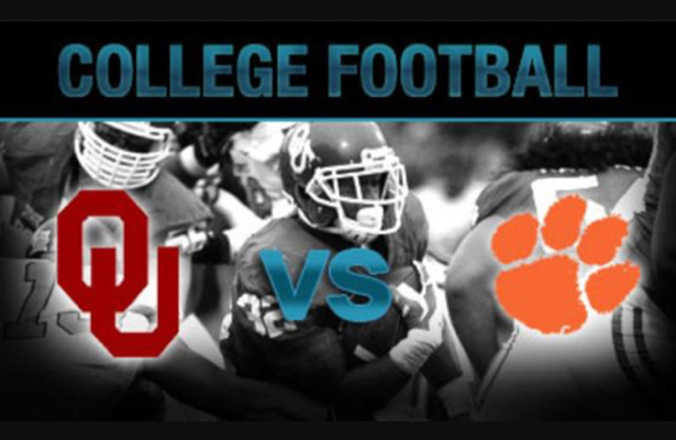 This year's Orange Bowl has the #4 Sooners taking on #1 Clemson Tigers. Photo Courtesy: Bar IX Facebook Page
