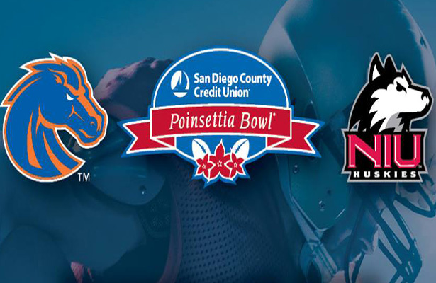 The Boise State Broncos have qualified for 14 straight bowls. An amazing feat in this day and age. Photo Courtesy: San Diego County Credit Union Poinsettia Bowl Facebook Page