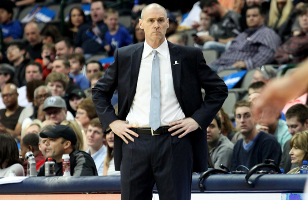 It's hard to put a dollar amount on the value of Dallas Mavericks head coach Rick Carlisle, but the results of his coaching are definitely there. Photo Courtesy: Dominic Ceraldi