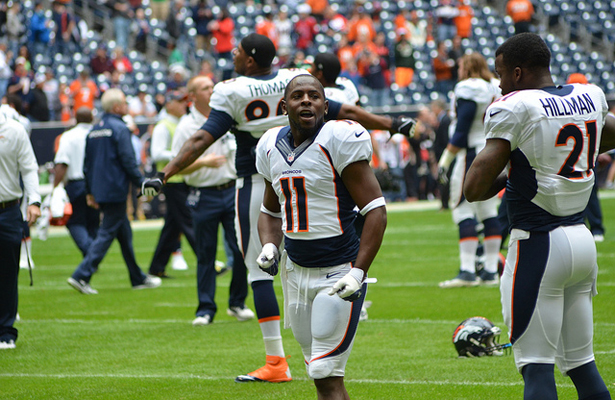 We expect Ronnie Hillman and the Denver Broncos to be up to the test against the Pittsburgh Steelers. Photo Courtesy: The Brit_2