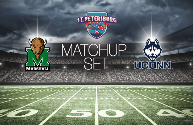 More college football at baseball stadiums when the St. Petersburg Bowl takes place between the Huskies and the Herd. Photo Courtesy: St. Petersburg Bowl Twitter Page