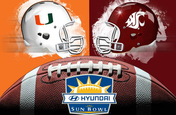 Expect lots of offensive firepower on display at this Hyundai Sun Bowl. Photo Courtesy: Hyundai Sun Bowl Facebook Page