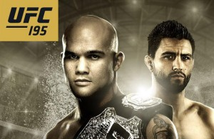 UFC 195: Lawler vs. Condit is the first UFC event of 2016.