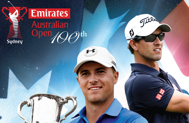 Matt Jones won the Australian Open on Sunday with Jordan Spieth and Adam Scott finishing tied for 2nd. Photo Courtesy: Emirates Australian Open