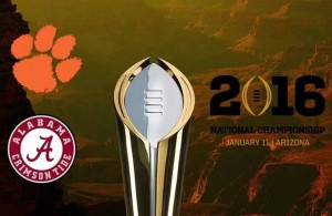 Barring injury and turnovers this season's CFP title game should be greatness. Photo Courtesy: Alabama Crimson Tide Football Fans Facebook Page