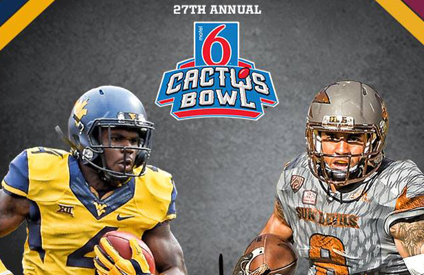 Expect plenty of firepower in this year's Cactus Bowl. Photo Courtesy: Motel 6 Cactus Bowl Facebook Page