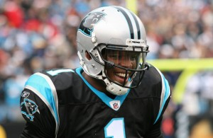 Cam Newton and the Carolina Panthers hope to be all smiles after Sunday's game with the Seattle Seahawks. Photo Courtesy: Parker Anderson