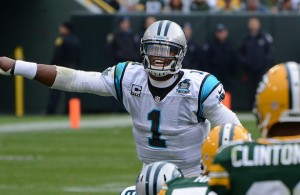 Cam Newton has the Panthers sitting in the catbird seat heading into the playoffs. Photo Courtesy: Mike Morbeck